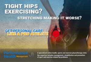 Why are my hips always tight and sore exercising?